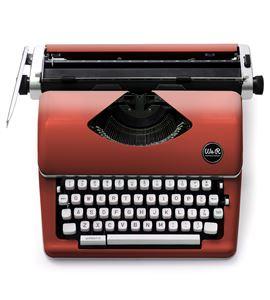 Máquina de escribir retro - red / rojo - 660262