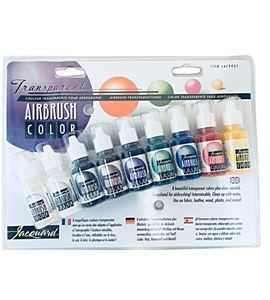 Kit airbrush - colores transparentes - IJAC9937