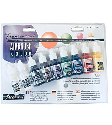 Kit aerografía - colores transparentes - IJAC9937