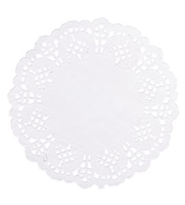 Set de papel de blonda - circular 14cm. - 68087102