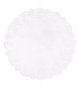 Set de papel de blonda - circular 21,5cm. - 68089102