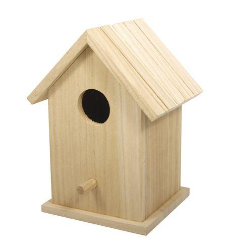 Casita nido de madera - 17 x 12,5 cm. - 62291000