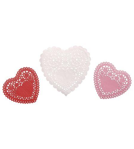 Set de papeles de blonda - corazón - 59223000