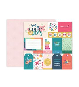 Hoja de papel de scrapbook - good day - 310690