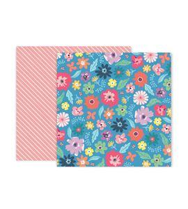 Hoja de papel de scrapbook - spring - 310703