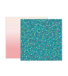 Hoja de papel de scrapbook - stars - 310706