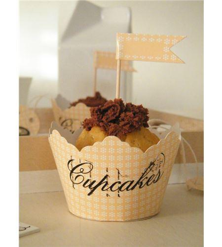 Pack de envoltorios para cupcakes - 14030027_1