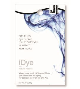 Tinte idye para fibras naturales - navy (azul navy) - JID1420 NAVY