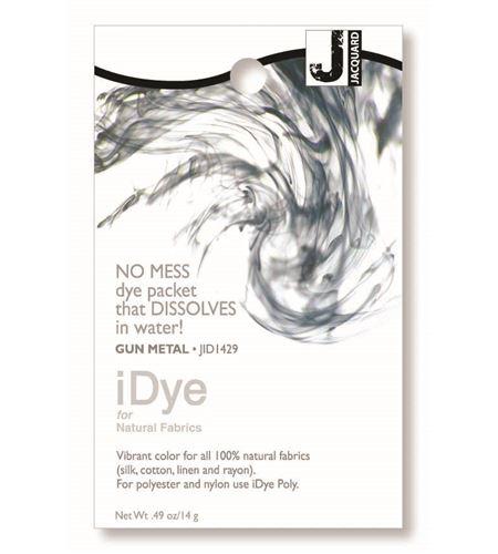 Tinte idye para fibras naturales - gun metal (gris oscuro) - JID1429 GUN METAL