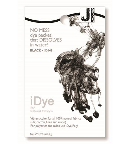 Tinte idye para fibras naturales - black (negro) - JID1431 BLACK