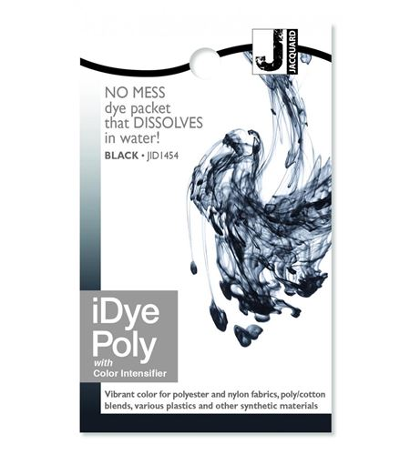 Tinte idye poly para fibras sintéticas - black (negro) - JID1454_IDYEPOLY_BLACK