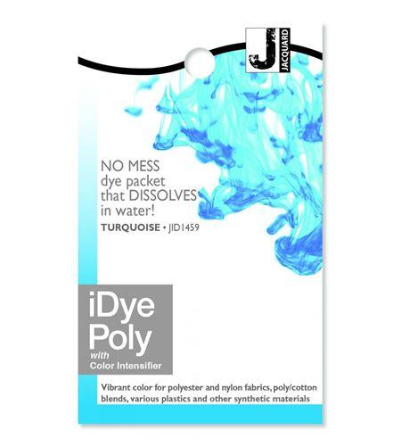 Tinte idye poly para fibras sintéticas - turquoise (turquesa) - JID1459_IDYEPOLY_TURQUOISE