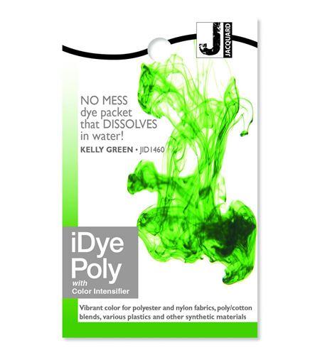 Tinte idye poly para fibras sintéticas - kelly green (verde césped) - JID1460_IDYEPOLY_KELLY GREEN