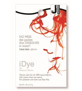 Tinte idye para fibras naturales - true red (rojo) - JID1411 TRUE RED