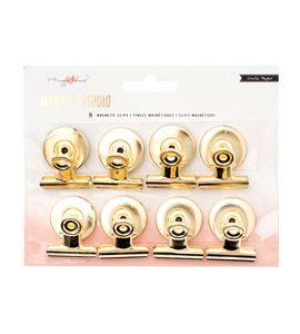 Pack de pinzas magnéticas doradas - 379021