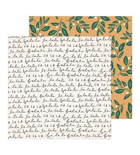Hoja de papel de scrapbook - mistletoe - 344498