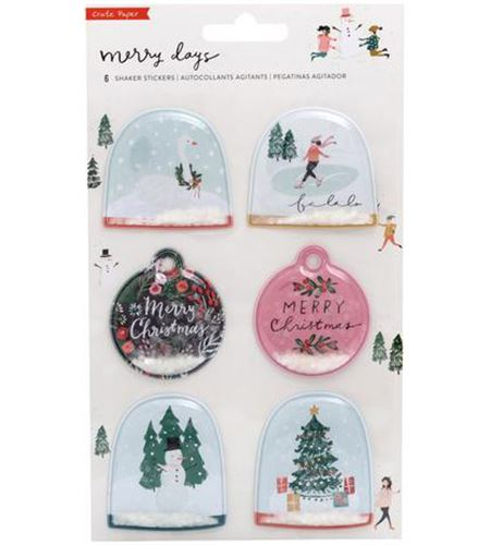 Set de adhesivos 3d merry days - 344512