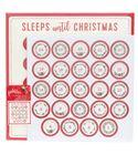 Calendario de adviento sleep until christmas