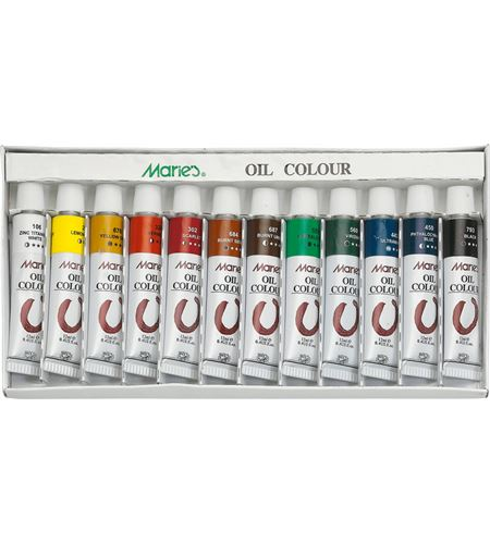 Set de pintura al óleo 12 u. - 502001