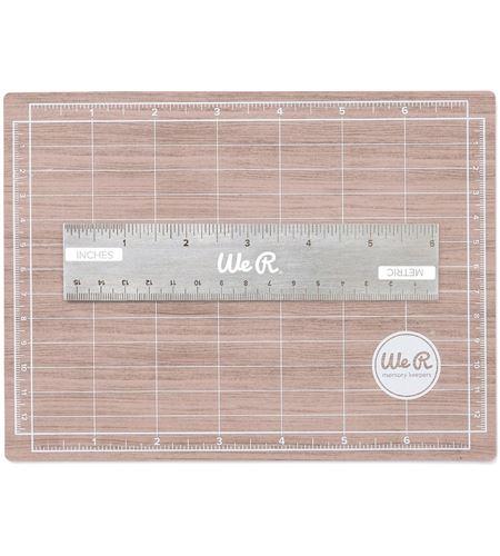 Base de corte magnética efecto madera - 71092-9