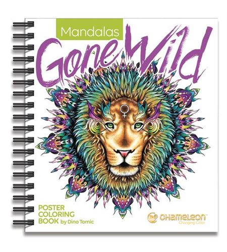 Color book - mandala gone wild - MADALASGONEWILD_540X
