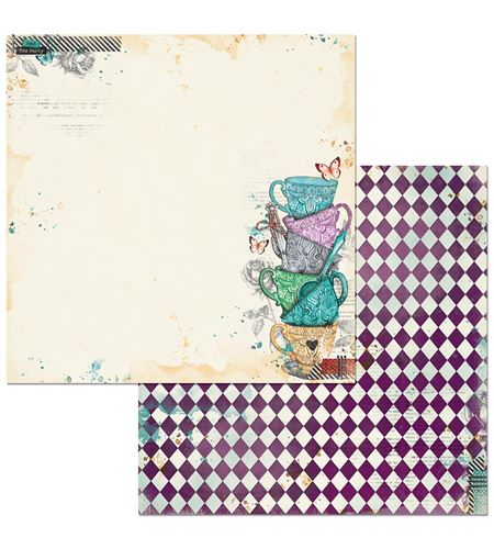 Hoja de papel de scrapbook - adventures - 7310334