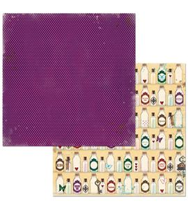 Hoja de papel de scrapbook - imagination - 7310339