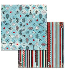 Hoja de papel de scrapbook - madness - 7310340