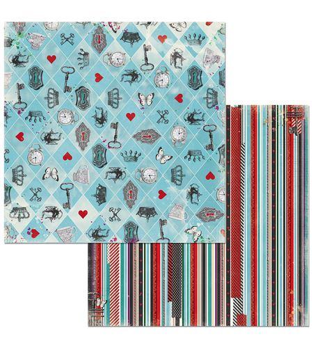 Hoja de papel de scrapbook - madness - 7310340