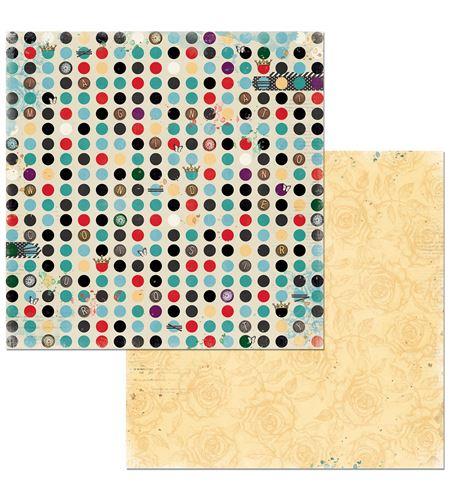 Hoja de papel de scrapbook - reality - 7310341