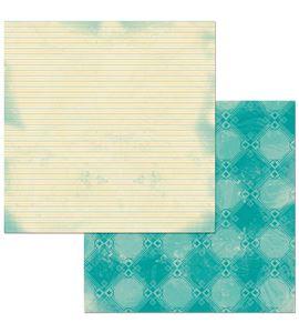 Hoja de papel de scrapbook - sitting pretty - 7310380
