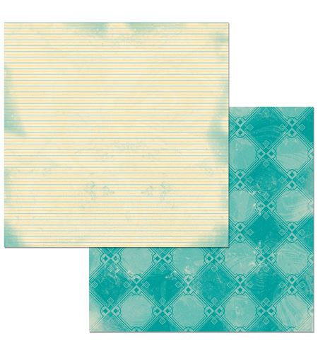 Hoja de papel de scrapbook - sitting pretty - 7310380