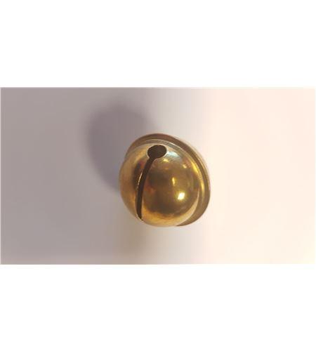 Cascabel dorado - 24mm. - 2504206