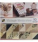 Bloc de papel de scrapbook - vintage memories