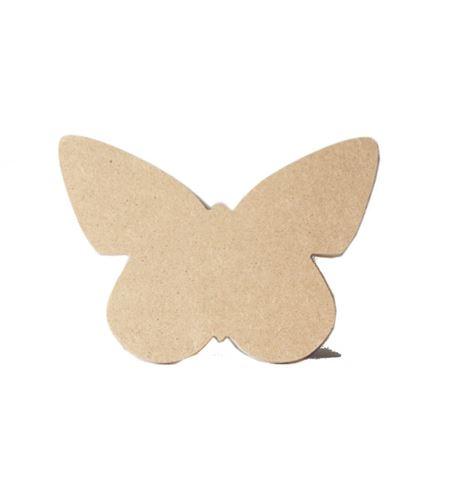 Silueta de mdf - mariposa - 14002165