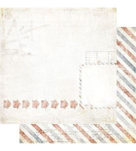 Papel de scrapbook - arrows - 19419
