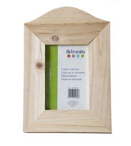 Marco de madera vertical - 8 x 12 cm. - 14001500