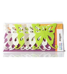 Set de siluetas de fieltro precortadas - mariposas - FE84A01