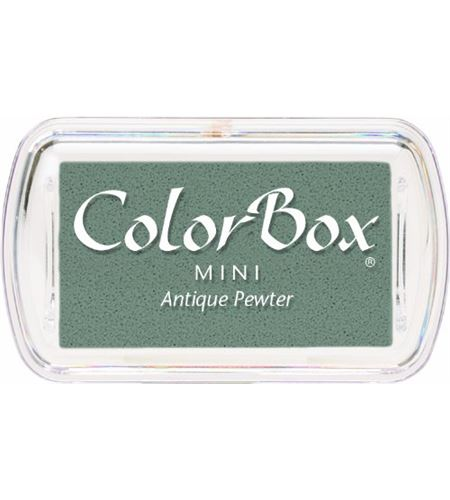 Tampón de tinta mini colorbox - antique pewter - CL74068.