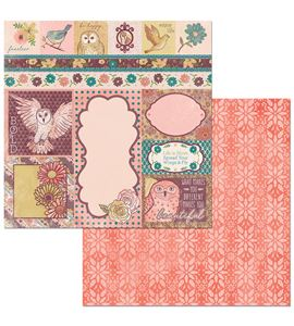Hoja de papel de scrapbook - beautiful - 7310352