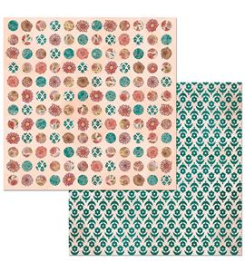 Hoja de papel de scrapbook - lovely - 7310357