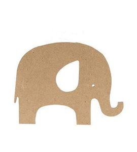 Silueta de dm - elefante - 14002186