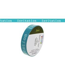 Masking tape turquesa - invitation - 11006577