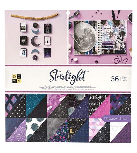 Papel starlight stack (36 hojas) - 615109