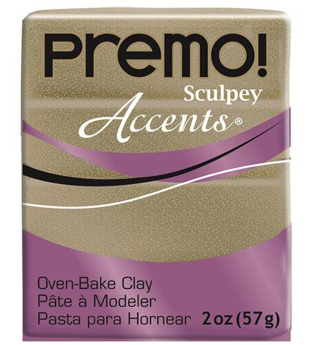 Premo accents - yellow gold glitter 57g - 5147