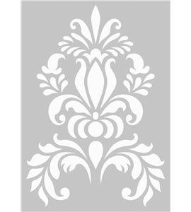 Plantilla / stencil - medallón - 15010003