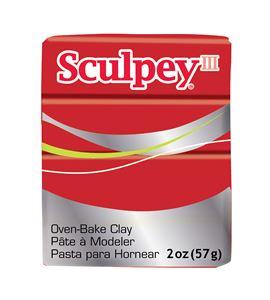 Sculpey iii - poppy 57 gr. - 31137