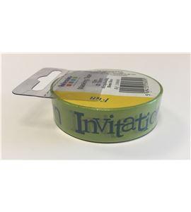 Masking tape verde - invitation - 11006600