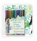 Fineliner 12-pen bright colors set