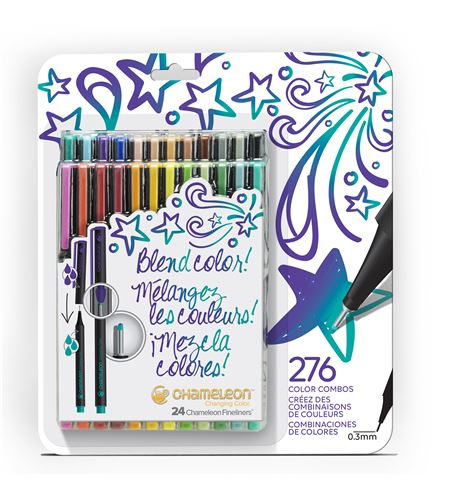 Fineliner 24-pen bold colors set - FL2401NAFRONT